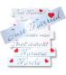 Placute inmatriculare nunta
