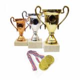 Cupe, Trofee, Medalii