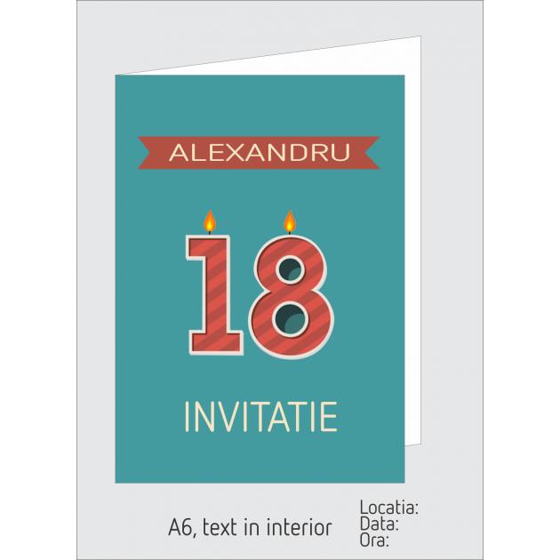 Invitatie majorat A6