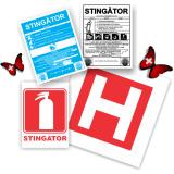 Etichete stingator